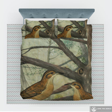 Image of Rufous hornero of Argentina bedding set -