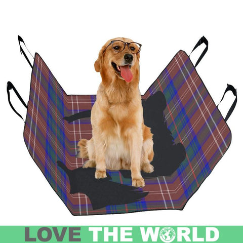 Chisholm Hunting Modern Scottie Tartan Pet Car Seat Dt8 Seats