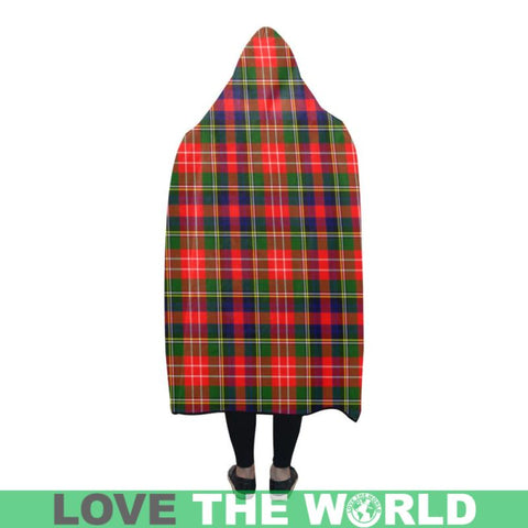 Christie Tartan Hooded Blanket - Tn One Size / 60X50 Blankets