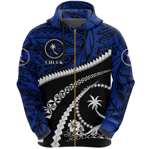 Chuuk Zip Up Hoodie - Road to Hometown K8