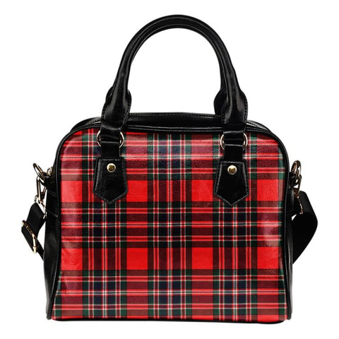Clan Macfarlane Tartan Shoulder Handbag - Bn Handbags