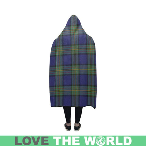 Image of Clan Maclaren Tartan Hooded Blanket - Bn | Love The World