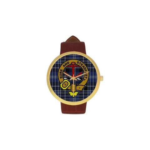 Clark Clan Badge Tartan Watch