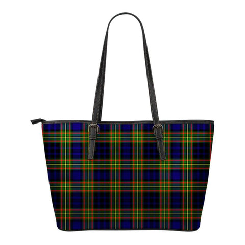 Clelland Modern  Tartan Handbag - Tartan Small Leather Tote Bag Nn5 |Bags| Love The World