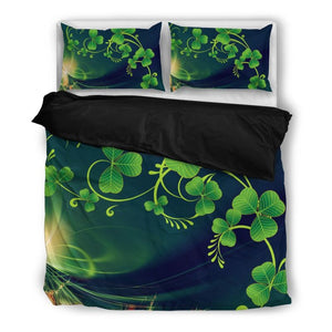 Clover Bedding Set 22 Bedding Set - Black / Twin Sets