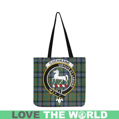 Cochrane Ancient Clan Badge Tartan Reusable Shopping Bag - Hb1 Bags