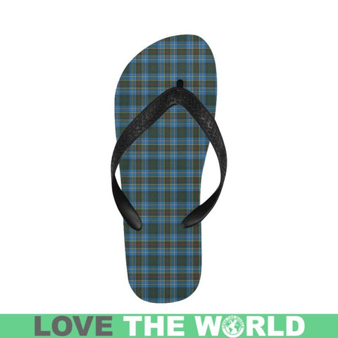 Cochrane Modern Tartan Flip Flops For Men/women S9 Unisex