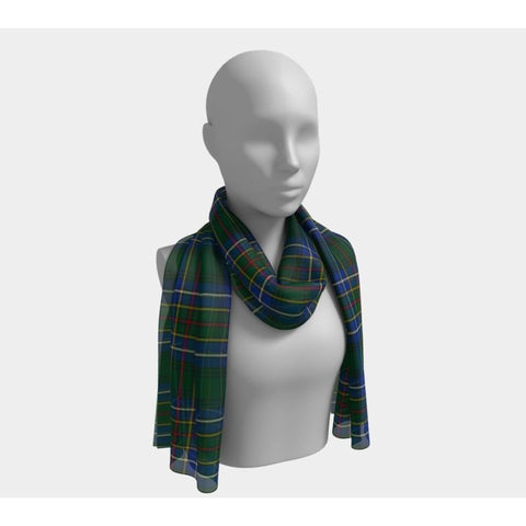 Image of Tartan Long Scarf - Cockburn Ancient