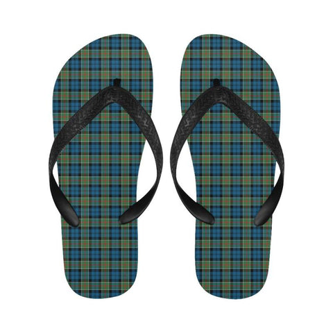 Colquhoun Ancient Tartan Flip Flops For Men/women S9 Unisex