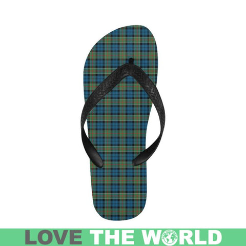 Image of Colquhoun Ancient Tartan Flip Flops For Men/women S9 Unisex