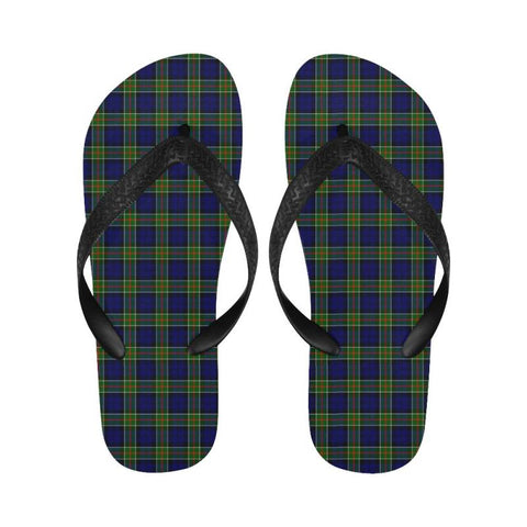 Colquhoun Modern Tartan Flip Flops For Men/women S9 Unisex