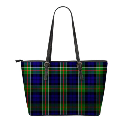 Colquhoun Modern  Tartan Handbag - Tartan Small Leather Tote Bag Nn5 |Bags| Love The World