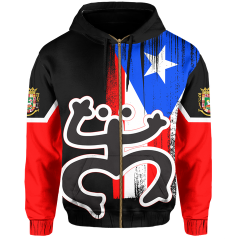 Image of Puerto Rico Hoodie (Zip-up)