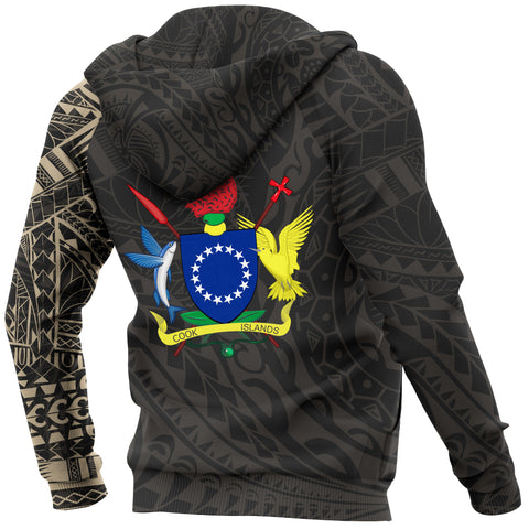 Cook Islands Polynesian Tattoo Style Hoodie A7