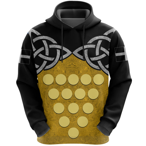 Cornwall Celtic Knot Hoodie front | clothing | Love Cornwall