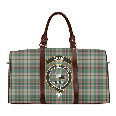 Tartan Travel Bag - Craig Clan | Scottish Travel bag | 1sttheworld