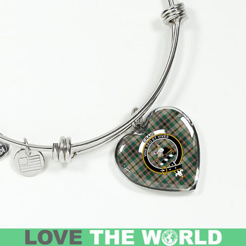 Image of Craig Tartan Silver Bangle - Sd1 Luxury Bangle (Silver) Jewelries