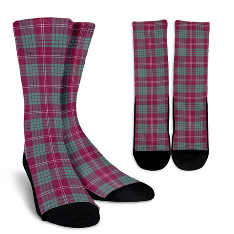 Crawford Ancient Tartan Socks, scotland socks, scottish socks, Xmas, Christmas, Gift Christmas, noel, christmas gift, tartan socks, clan socks, crew socks, warm socks