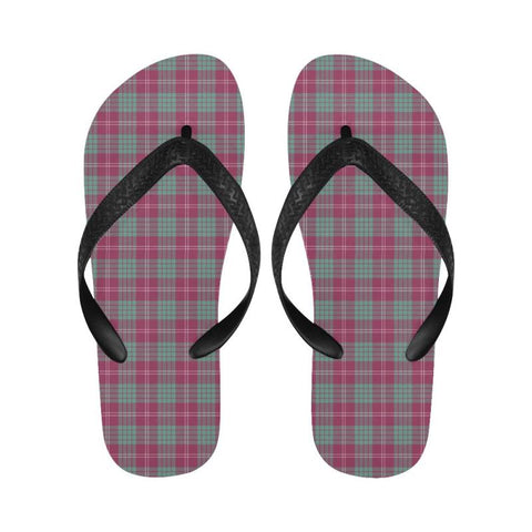 Crawford Ancient Tartan Flip Flops For Men/women S9 Unisex