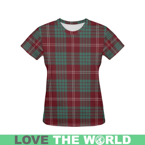 Tartan T-shirt - Crawford Modern| Tartan Clothing | Over 500 Tartans and 300 Clans