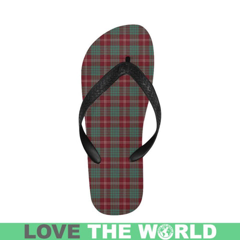 Crawford Modern Tartan Flip Flops For Men/women S9 Unisex