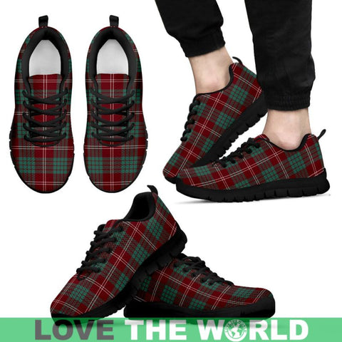 Image of Crawford Modern Tartan Sneakers - Bn Mens Sneakers White 1 / Us5 (Eu38)