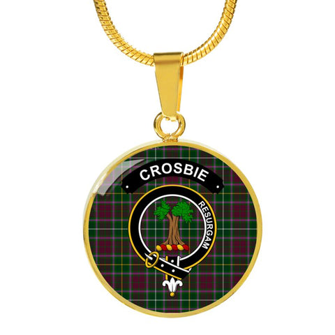 Image of Crosbie (Or Crosby) Clan Tartan Golden (Necklace/Bangle)  A9 |Accessories| 1sttheworld