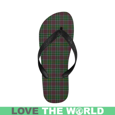 Crosbie Tartan Flip Flops For Men/women S9 Unisex
