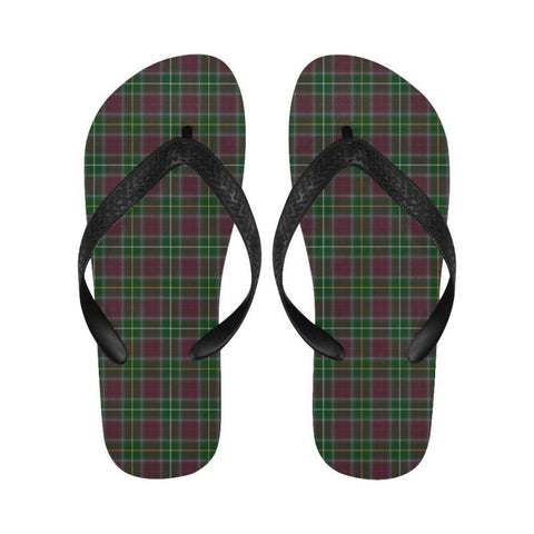 Image of Crosbie Tartan Flip Flops For Men/women S9 Unisex
