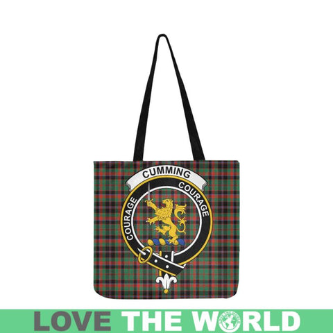 Cumming Hunting Ancient Clan Badge Tartan Reusable Shopping Bag - Hb1 Bags