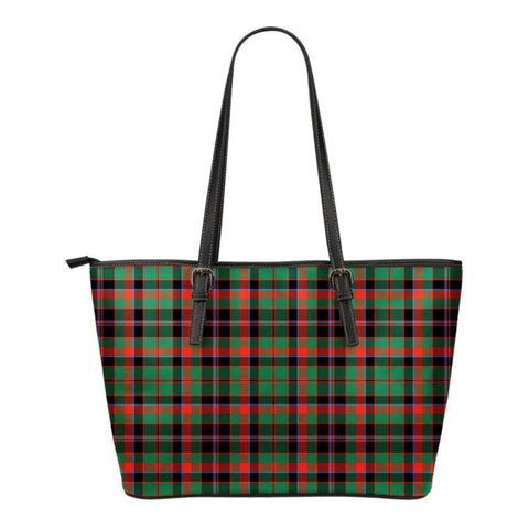 Cumming Hunting Ancient  Tartan Handbag - Tartan Small Leather Tote Bag Nn5 |Bags| Love The World