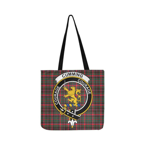 Cumming Hunting Modern Clan Badge Tartan Reusable Shopping Bag - Hb1 Bags