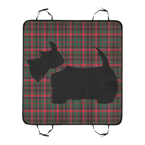 Cumming Hunting Modern Scottie Tartan Pet Car Seat Dt8 Seats