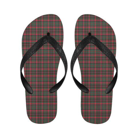 Cumming Hunting Modern Tartan Flip Flops For Men/women S9 Unisex