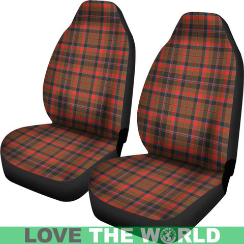 Cumming Hunting Weathered Car Seat Covers Nl25