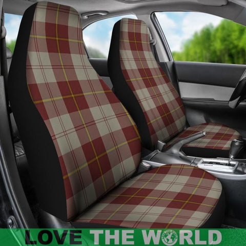Cunningham Burgundy Dancers Car Seat Covers Nl25