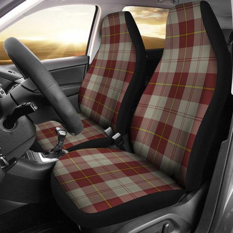Image of Cunningham Burgundy Dancers Car Seat Covers