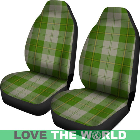 Cunningham Dress Green Dancers Car Seat Covers Nl25