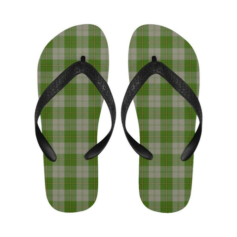 Cunningham Dress Green Dancers Tartan Flip Flops For Men/women S9 Unisex