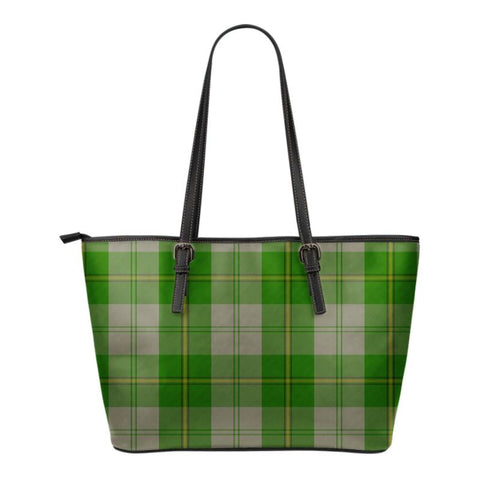 Cunningham Dress Green Dancers  Tartan Handbag - Tartan Small Leather Tote Bag Nn5 |Bags| Love The World