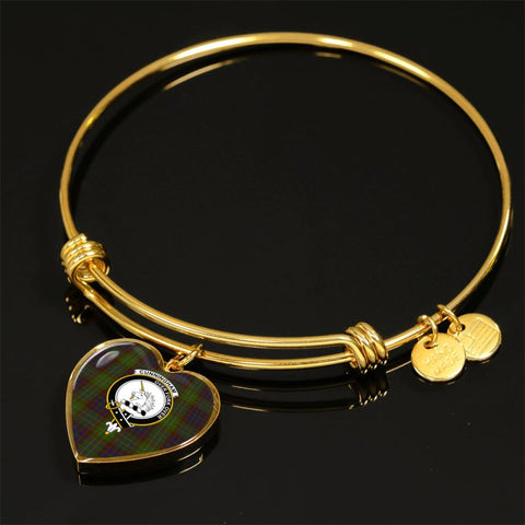 Cunningham Hunting Modern Tartan Golden Bangle - Tm Jewelries