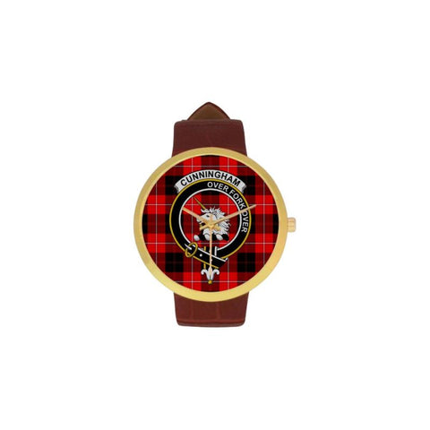 Cunningham Modern Clan Badge Tartan Watch