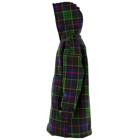 Image of Forsyth Modern Snug Hoodie - Unisex Tartan Plaid Left