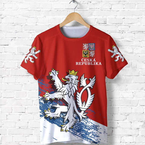 Image of Czech Republic Lion Special T-Shirt A7
