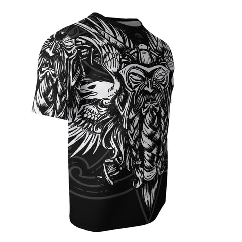 Image of Viking Odin All Over T-Shirt Bn10