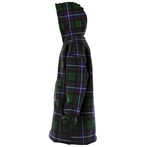 Image of Galbraith Modern Snug Hoodie - Unisex Tartan Plaid Left