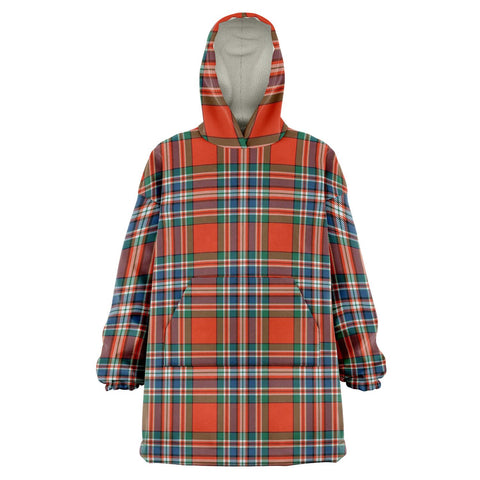 Image of MacFarlane Ancient Snug Hoodie - Unisex Tartan Plaid Front