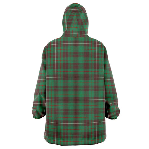 Image of MacKinnon Hunting Ancient Snug Hoodie - Unisex Tartan Plaid Back
