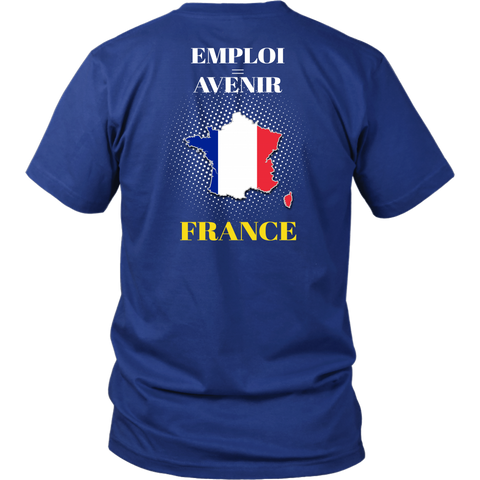 Image of France T-shirt Never Underestimate Men A10