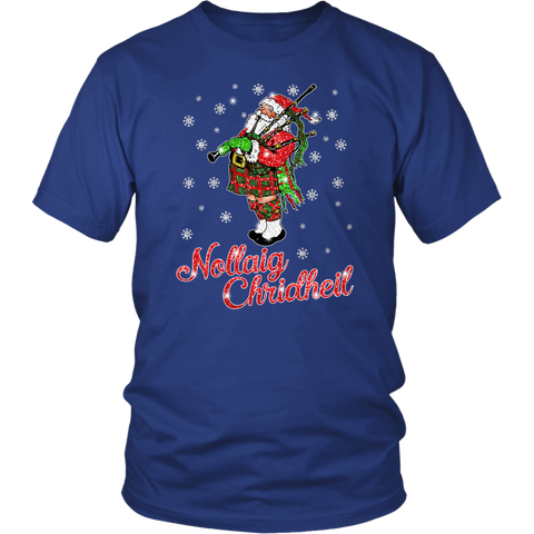 Image of Christmas T-Shirt™ - Santa Scottish Twinkle - BN04